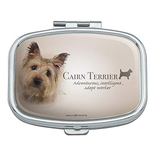 Cairn Terrier Dog Breed Rectangle Pill Case Trinket Gift Box