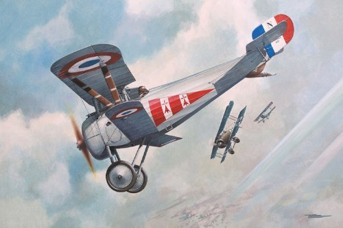 Roden Nieuport 24Bis Airplane Model Building Kit, 1 72 Scale by Roden