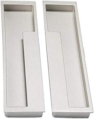 Tenlacum - Tirador de puerta para puerta corredera, armario, cajón ...