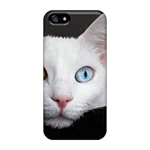 Premium Phone Case For Iphone 5/5s/ Amazing Kitten Eyes Tpu Case Cover