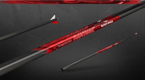 350 Eagle (Black Eagle Rampage Fletched Hunting Arrows - 12 Pack (350/.001))