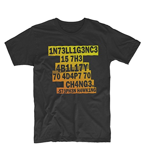 Stephen Hawking Mens & Womens Custom T Shirt Printing Tee