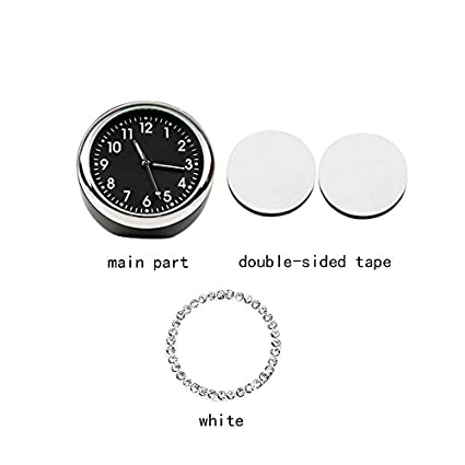 Mini Vehicle Clock Decoration idain Car Dashboard Clock