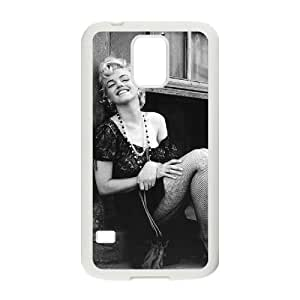 VNCASE Marilyn Monroe Phone Case For Samsung Galaxy S5 i9600 [Pattern-6]
