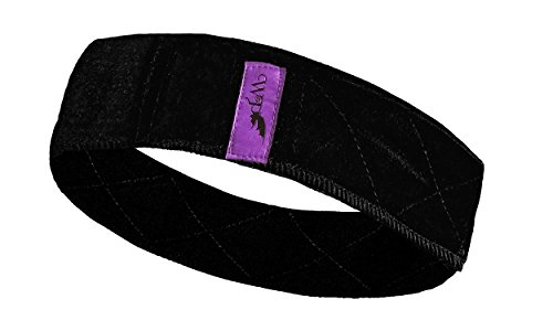 Luxurious Wig Securing Headband by Wicked Pixie (Black)