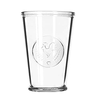Libbey 92182 Rooster Juice Glass (Box of 12), 9 oz, Clear