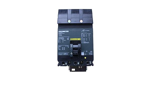 SCHNEIDER ELECTRIC 600-VOLT 50-AMP HDA36050 Molded CASE Circuit Breaker 600V 50A