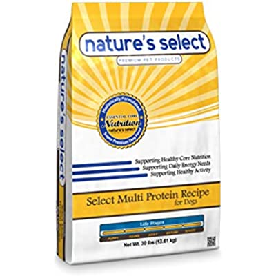 Nature's Select Multi Protein Recipe - Chicken, Beef & Pork, Dry Dog Food - All Ages
