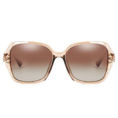 de muchacha de aire PC al gafas la 3 UV400 de Republe manera en protección cuadrado de sol las Eyewear forma de polarizaron sol casuales la de gafas mujeres libre marco la vpSnt