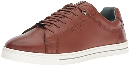 Ted Baker Men's Thawne Sneaker, tan Leather, 7 Medium US ()