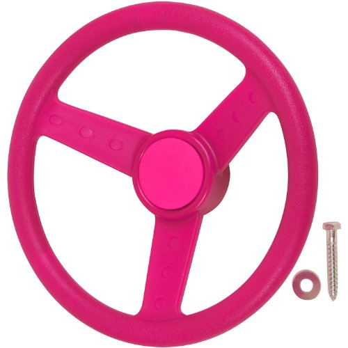 Swing Set Stuff Children's Steering Wheel with SSS Logo Stic