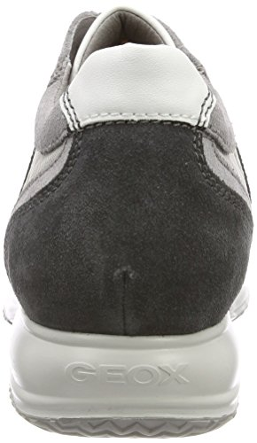 Happy Stone Art Gris Lt U p Homme Baskets Geox Grey 5qa0wxU