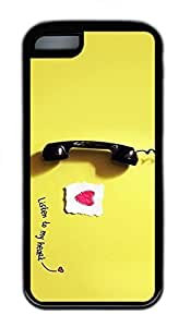 LJF phone case Lovely Give Me A Call Cases For iphone 4/4s - Summer Unique Wholesale 5c Cases