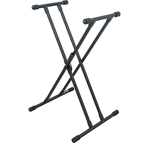 On-Stage KS8391 Lok-Tight Double-X Keyboard Stand with quikSQUEEZE Trigger