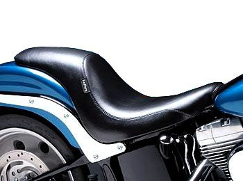 Le Pera Silhouette Seat for Harley 2006-2009 Softail Models with 200 Mm Rear Tire (Except Deuce Models)