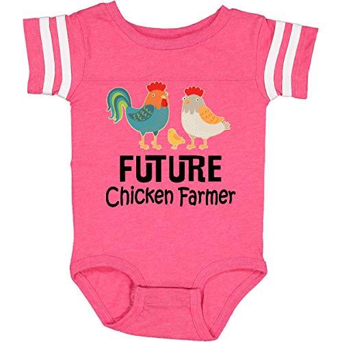 inktastic Future Chicken Farmer Childs Infant Creeper
