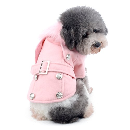 Used, Dog Cat Winter Coat Jacket Pet Cotton Padded Clothes for sale  Delivered anywhere in Canada
