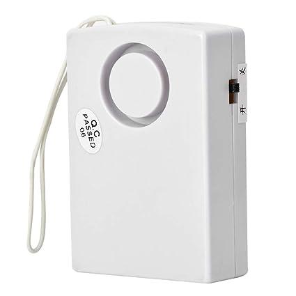 120 dB Alarma de Seguridad, Inalámbrico Detector, Magnético Inicio Puerta Ventana Sensor, Alarma