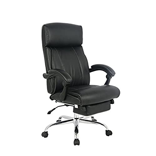 Delightful VIVA OFFICE Reclining Office Chair, High Back Bonded Leather Chair With  Footrest  Viva08501