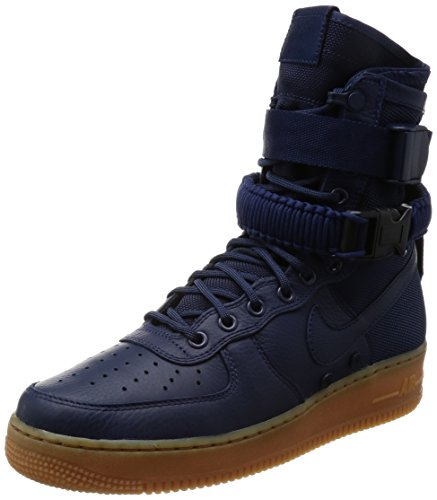 Nike Men's SF AF1 Midnight Navy/Midnight Navy Casual Shoe 9 Men - Outlets Sf