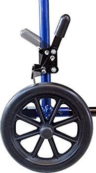 Roscoe Medical Kta1916sa-bl Aluminum Transport Wheelchair, Blue 7