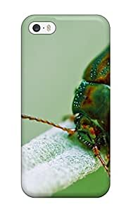 Awesome RgtopzD14402uhiOh ZippyDoritEduard Defender Tpu Hard Case Cover For Iphone 5/5s- Fascinating Bug Green Orange Metallic Insect Animal Other