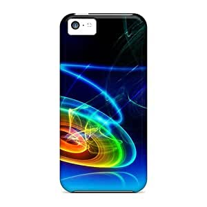 Iphone High Quality Tpu Cases/ 3d Twirl Mqn6238KHqp Cases Covers For Iphone 5c