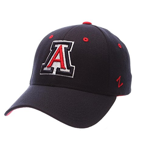 NCAA Arizona Wildcats Men's ZH Stretch Fit Cap, Navy, Medium/Large -