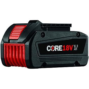Bosch GXS18V-02N24 18V Starter Kit with CORE18V Batteries ...