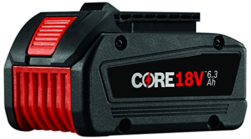 Bosch CORE18V Lithium Ion 6.3 Ah Battery GBA18V63 ()