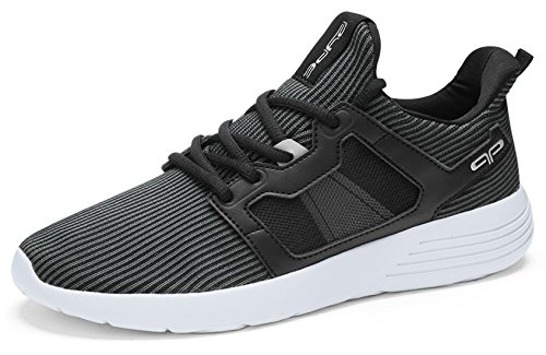PYPE Women's Lightweight Mesh Training Shoes (Size US 11) Black