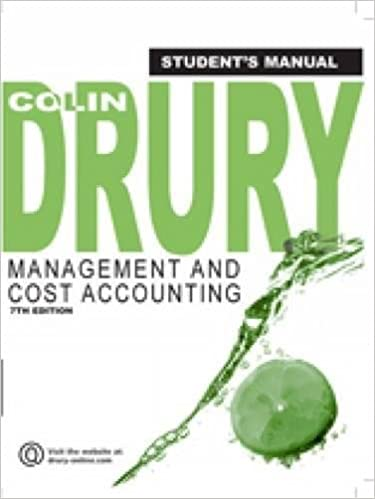 Management and cost accounting students manual colin drury management and cost accounting students manual colin drury 9781844805686 amazon books fandeluxe Images