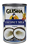 Geisha, Coconut Milk, Original (Pack of 36)
