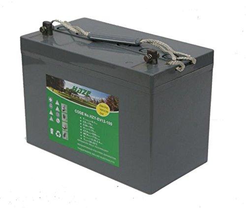 Haze - HZY-EV12-100 - 12v 105ah Gel Golf Battery