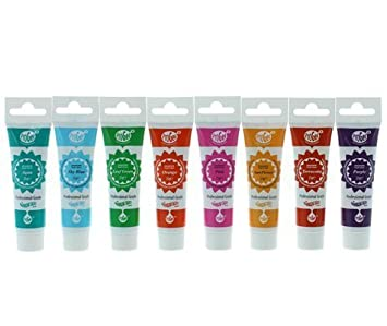 Rainbow Dust ProGel Professional Food Colouring Set - Summer Colours