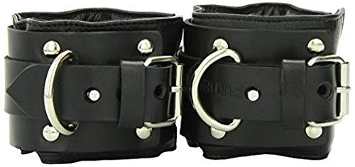 Strict Leather Deluxe Locking Wide Padded Bdsm Cuffs by Strict Leather