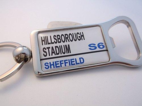fan products of Sheffield Weds Stadium Street Sign Bottle Opener Keychain