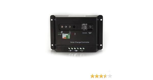 Controlador Regulador de Carga para Batería Panel Solar 30A 12/24V ...