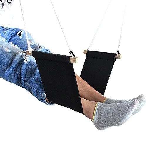 Fall In Love Mini Office Foot Rest Stand Desk Foot Hammock/Custom Mini Office feet Hammock/Under Desk foort Rest Canvas Hammock,Red