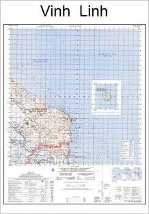 Vietnam Map Vinh Linh South Vietnam North Vietnam And The - Longitude and latitude of vietnam
