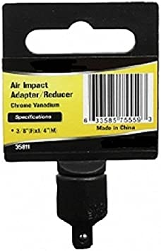 """1//4/"""" TO 3//8/"""" INCH DR DRIVE BLACK IMPACT SOCKET ADAPTER REDUCER TOOL ADAPTOR"""