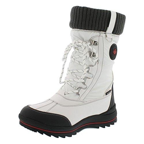 - Cougar Girls' Como Waterproof Winter Boot (6 M US Big Kid, White)