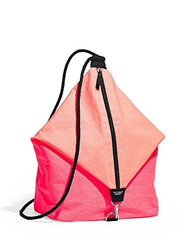Victorias Secret Zaino Casual, schwarz, rot, pink (Nero) - Victorias Secret