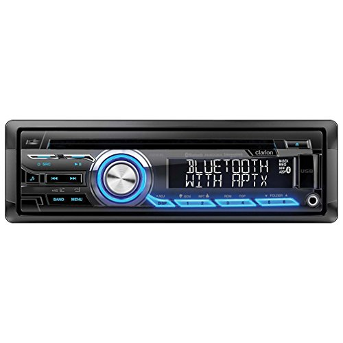 Clarion CZ305 Built-In Bluetooth with aptX for HFP/A2DP/PBAP/AVRCP (Clarion Car Radio compare prices)