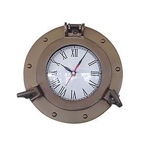 41H5X9piSnL._SS300_ Nautical Themed Clocks
