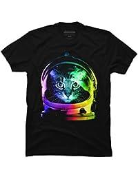 47b82daead Astronaut Cat Men's Graphic T Shirt - Design By Humans