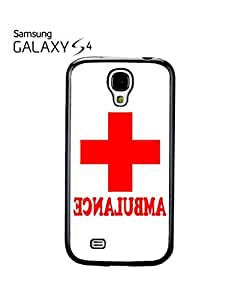 Ambulance Funny Red Cross Mobile Cell Phone Case Samsung Galaxy S4 Black