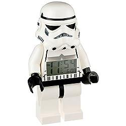 LEGO Star Wars Stormtrooper Figurine Alarm Clock [parallel import goods]