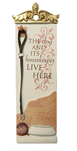 Classic Collection Slim Hanger the Dog and Its Housekeeper Live Here (Trinket Keeper)