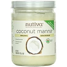 Nutiva Organic coconut manna,